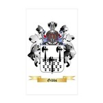 Gibbs Sticker (Rectangle 10 pk)