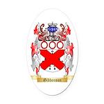 Gibbonson Oval Car Magnet