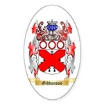 Gibbonson Sticker (Oval 10 pk)