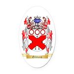 Gibbons Oval Car Magnet