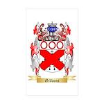 Gibbons Sticker (Rectangle 50 pk)