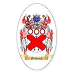 Gibbons Sticker (Oval)