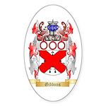 Gibbons Sticker (Oval 50 pk)