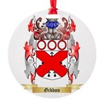 Gibbon Round Ornament