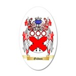Gibbon 35x21 Oval Wall Decal