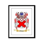 Gibbon Framed Panel Print