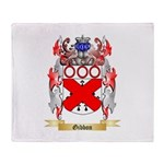 Gibbon Throw Blanket
