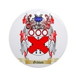 Gibbon Ornament (Round)