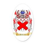 Gibbins Oval Car Magnet