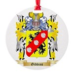 Gibbins 2 Round Ornament