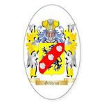 Gibbins 2 Sticker (Oval)