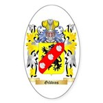 Gibbins 2 Sticker (Oval 50 pk)