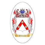 Gibbens Sticker (Oval 50 pk)