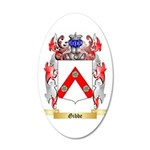 Gibbe 35x21 Oval Wall Decal