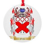 Gibb Round Ornament
