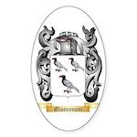 Giaovnnoni Sticker (Oval)