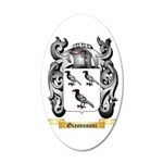Giaovnnoni 20x12 Oval Wall Decal