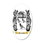 Gianullo 20x12 Oval Wall Decal
