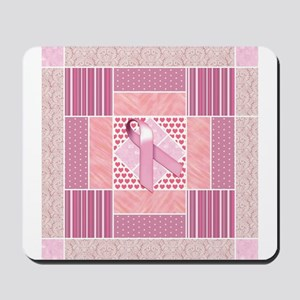 Pink Tribute to Breast Cancer Survivors Mousepad