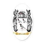 Gianulli Oval Car Magnet