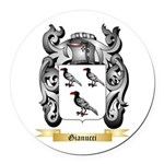 Gianucci Round Car Magnet