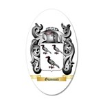 Gianucci 20x12 Oval Wall Decal