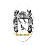 Gianotti Oval Car Magnet