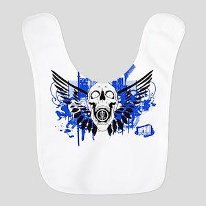 Winged Skull Disc Golf Shirt Bib