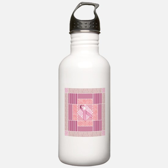 Pink Tribute to Breast Water Bottle