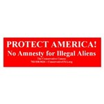 Protect America! Bumper Sticker
