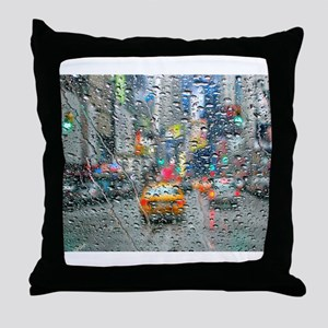Times Sq. No. 3 Throw Pillow