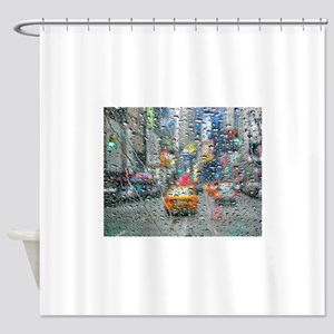 Times Sq. No. 3 Shower Curtain