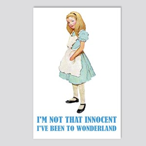 ALICE - NOT THAT INNOCENT Postcards (Package of 8)
