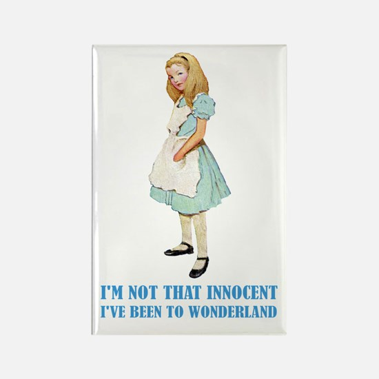 ALICE - NOT THAT INNOCENT Rectangle Magnet (10 pac
