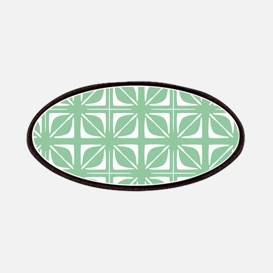 Abstract Geometric Leaf Floral Squares Patches