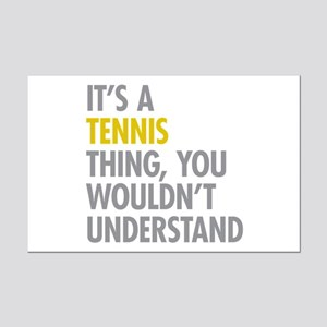 Its A Tennis Thing Mini Poster Print