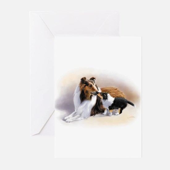 Collie Greeting Cards