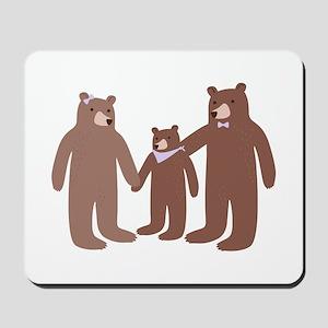 Bear Family Mousepad