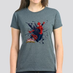 Spider-Girl Web Women's Dark T-Shirt