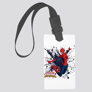 Spider-Girl Web Large Luggage Tag