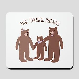 The Three Bears Mousepad