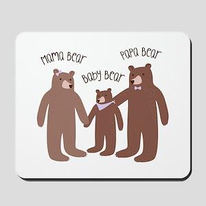 A Bear Family Mousepad