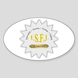 ISFJ Sticker (Oval)