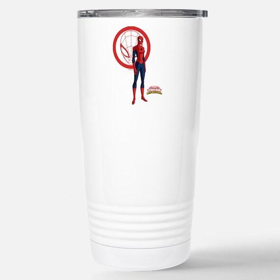 Spider-Girl Standing Stainless Steel Travel Mug