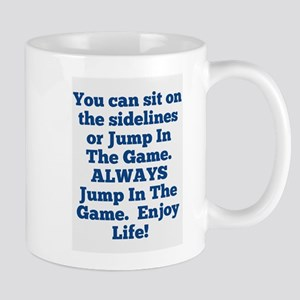 Jump In The Game Mugs