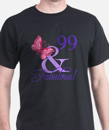 Fabulous 99th Birthday T-Shirt