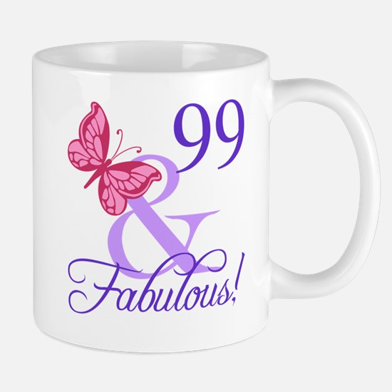 Fabulous 99th Birthday Mug
