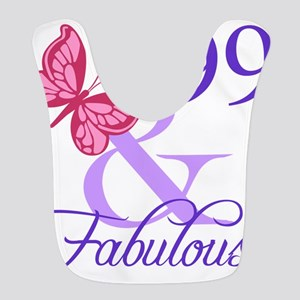 Fabulous 99th Birthday Bib