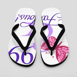 c4750f93470f Fabulous 99th Birthday Flip Flops