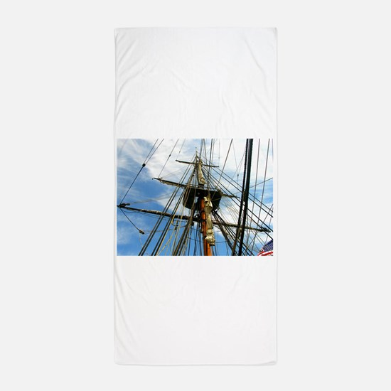 Sky Ropes Beach Towel